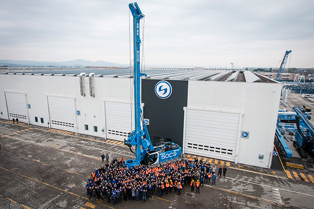 A MILESTONE FOR SOILMEC: THE PRODUCTION OF THE 5,000th LARGE DIAMETER PILES MACHINE | News Trevi Group English site 1