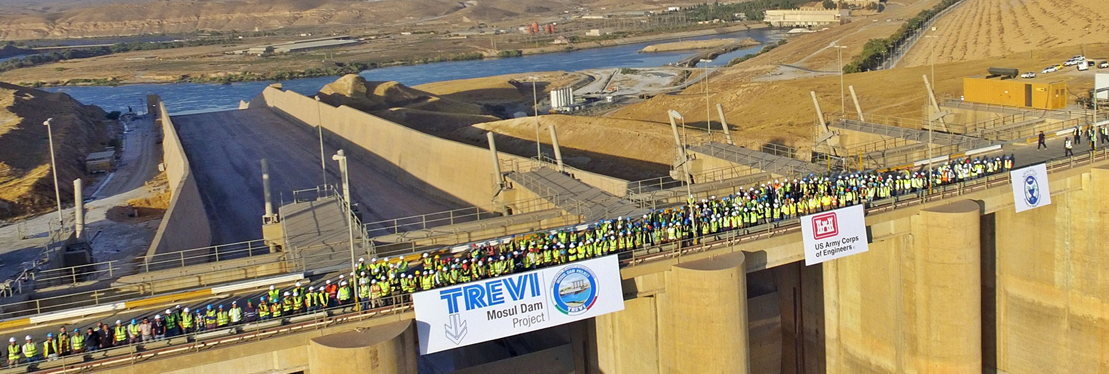 "Trevi, the ""Mission Impossible"" at the Mosul Dam is almost finished 
