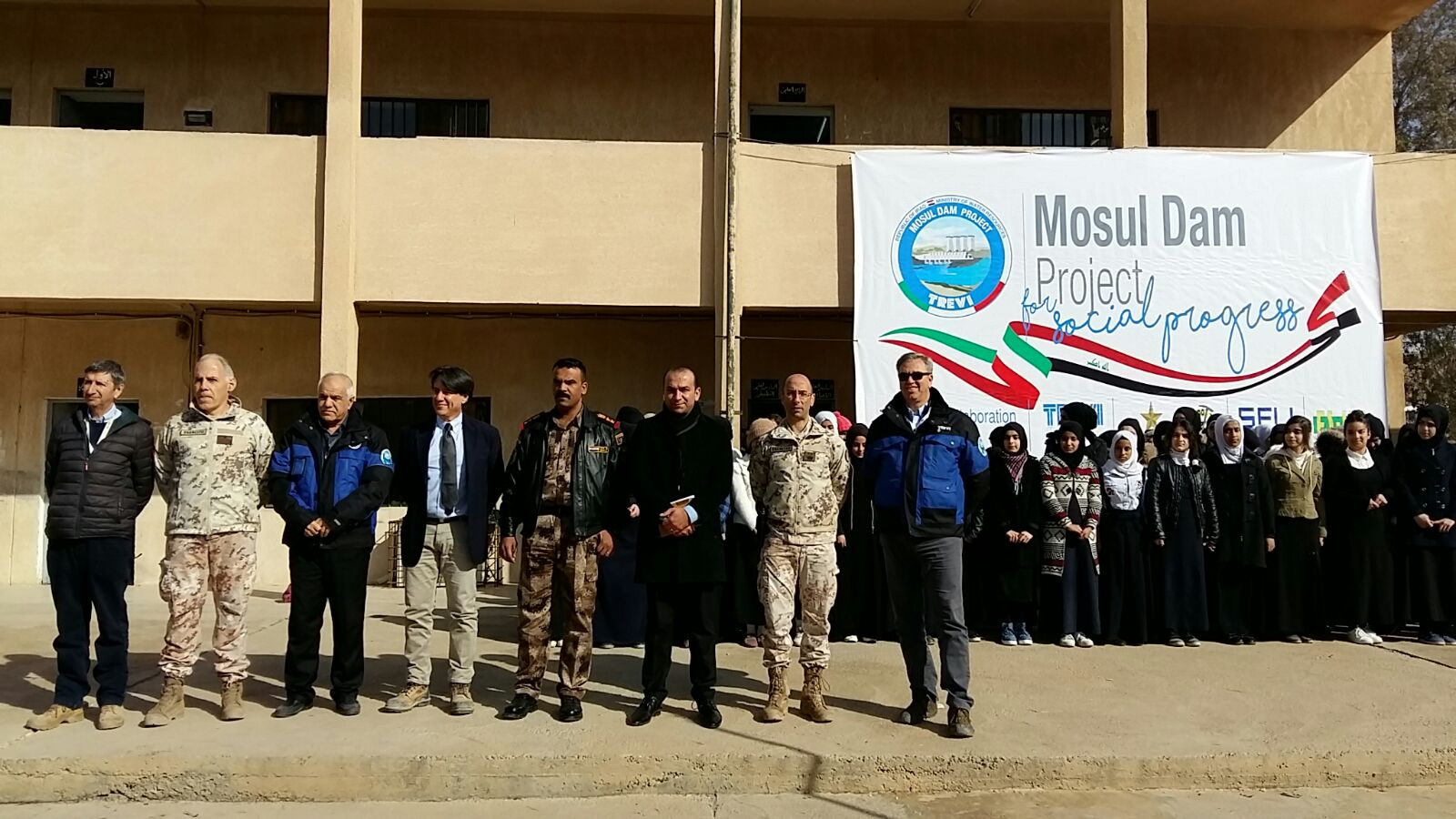 Mosul Dam Project for Social